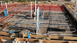 Radiant Heating and Cooling installation